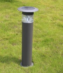 High Quality 4w solar bollard light with bright LED for outdoor parking lighting