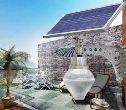 All in one style 10W Solar Yard Light with 25W solar panel